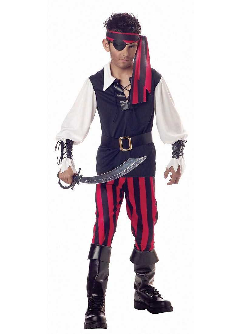 Child Cutthroat Pirate Costume California Costumes 588 by California Costumes