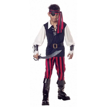 Cheap Pirate Costumes (Child Cutthroat Pirate Costume California Costumes)