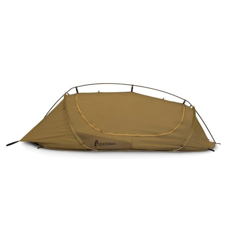 Catoma Badger Burrow 98604 Coyote Brown 1 Person Tactical Tent Shelter (Persol Brown)