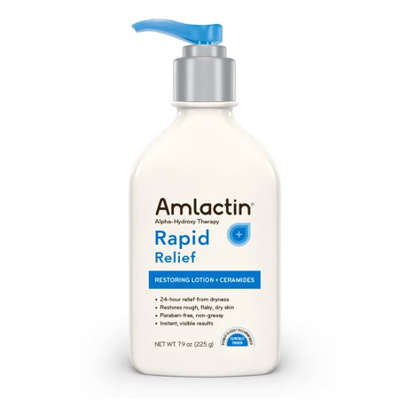 6 Pack Amlactin Alpha-Hydroxy Therapy Rapid Relief Lotion, 7.9 Ounces Each