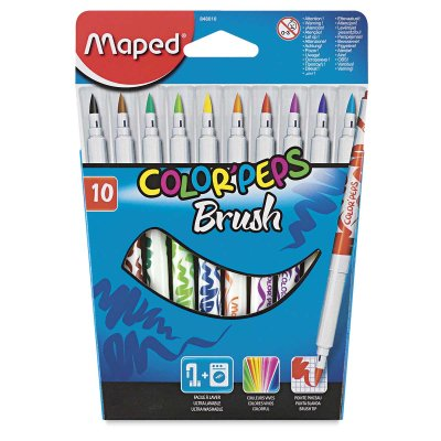 Brush Map - Maped Color'Peps Brush Markers - Set of 10