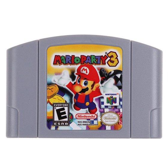 For Nintendo 64 N64 Mario Smash Bros Zelda Video Game
