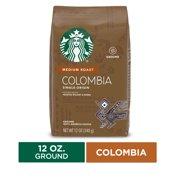 Starbucks Medium Roast Ground Coffee  Colombia  100% Arabica  1 bag (12 oz.)