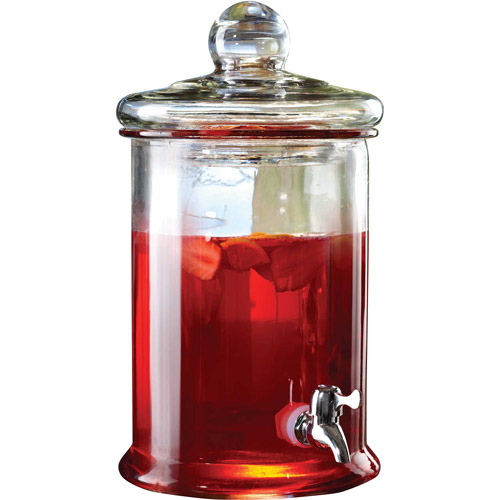 Norfolk 1.3-Gallon Glass Beverage Dispenser