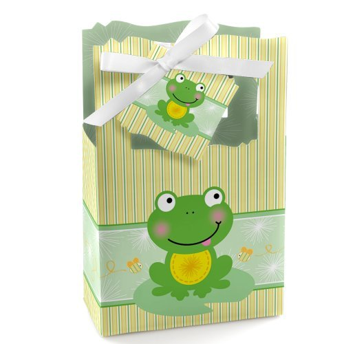 Froggy Frog - Party Favor Boxes - Set of 12