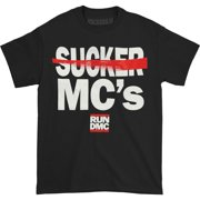 Run DMC Men's  Sucker MC's T-shirt Black