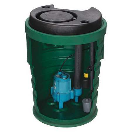 LITTLE GIANT 9SF2V2DA1 Sewage System4 10HP4inx2in20 ft 8 5A