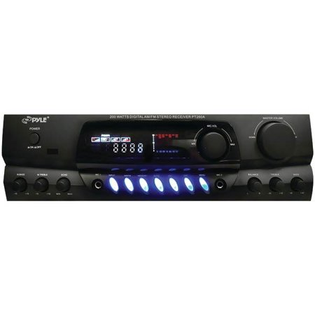 200-Watt Digital AM/FM Stereo Receiver