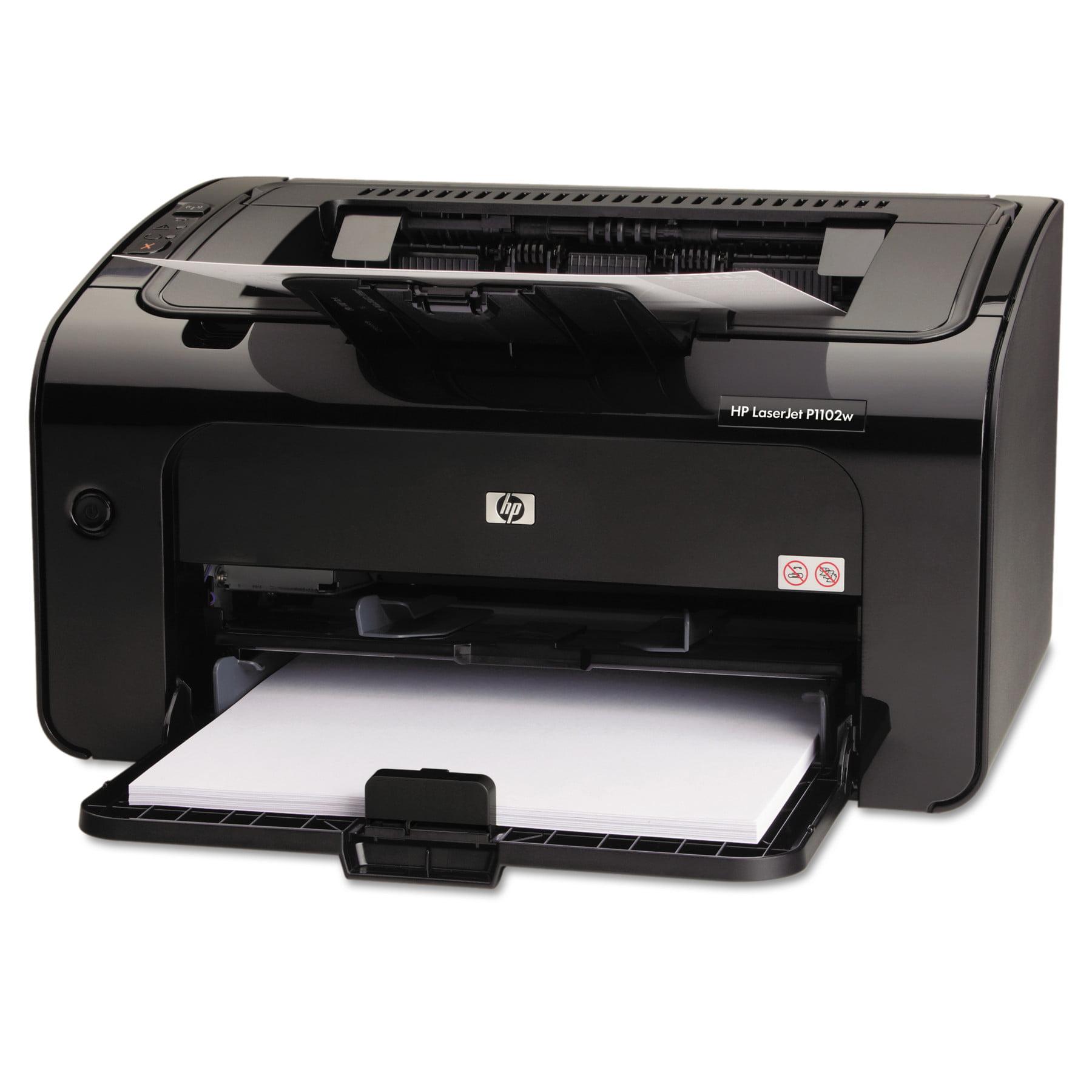 hp laserjet pro p1102w wireless laser printer walmart com