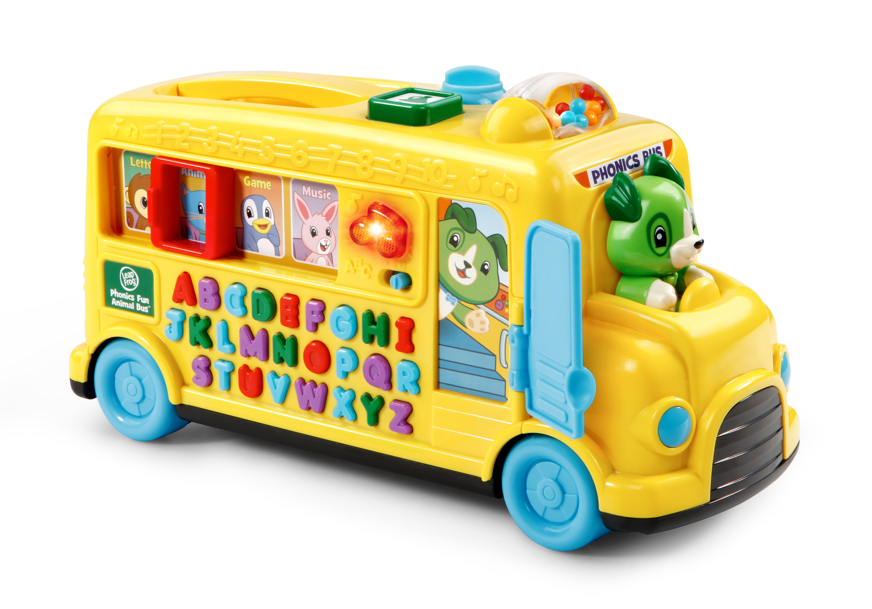 LeapFrog Phonics Fun Animal Bus by LeapFrog
