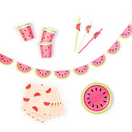 Watermelon Essentials Party In A Box by - Watermelon Party Ideas