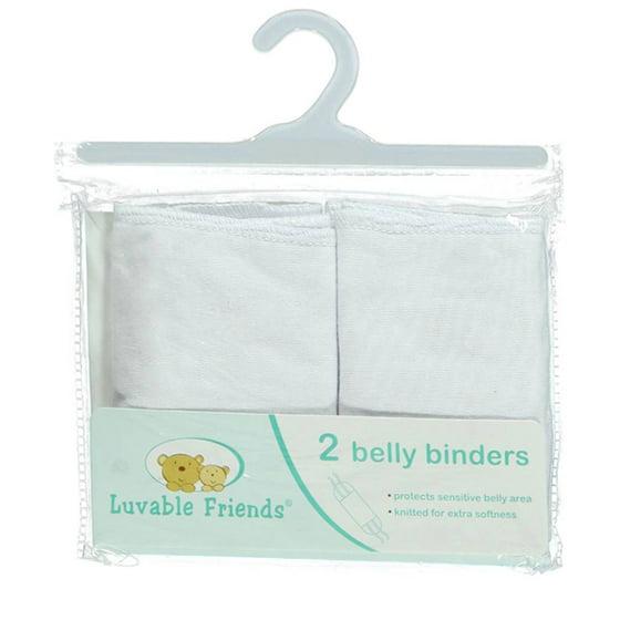 Newborn Baby Neutral Belly Binder 2-Pack