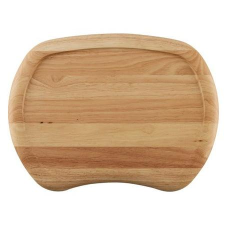 Serve Board - Ayesha Pantryware Parawood Cut and Serve Board, 16-Inch x 12-Inch x 1-Inch