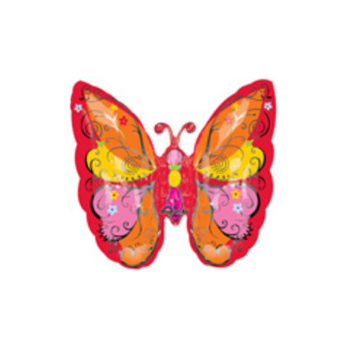 Red Whimsical Butterfly Balloon by US Balloon - 714123