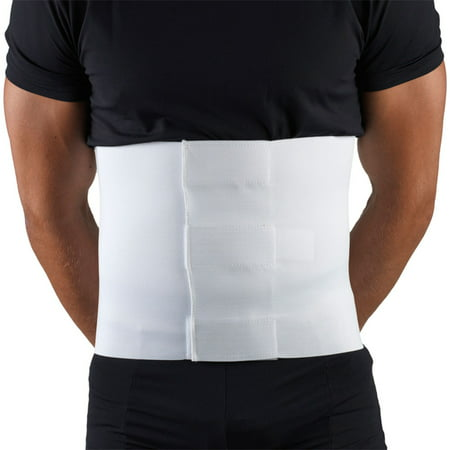 OTC Multiple Use Abdominal Binder - 10 inch, White, Small