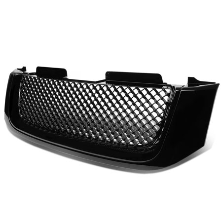 Gmc Yukon Xl 1500 Grille (For 2002 to 2009 GMC Envoy / XL ABS Plastic Sport Mesh Front Bumper Grille (Black) - 2nd Gen 03 04 05 06 07 08)