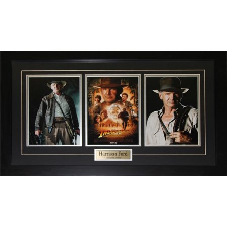 Harrison Ford Indiana Jones Adventure Movie 3 Photograph Collector Frame - image 1 of 1