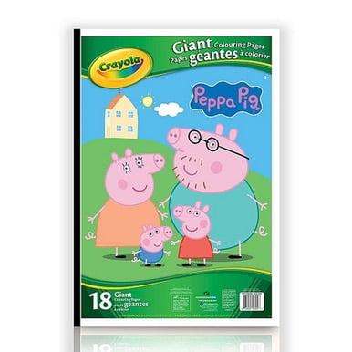 Crayola Peppa Pig Giant Coloring Book - Walmart.com
