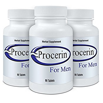 Procerin Tablets - Male Hair Growth Supplement -3 Month Supply (3 bottles - 90 tablets