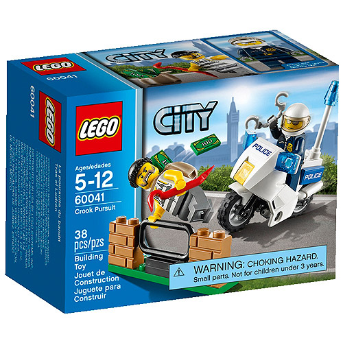 LEGO City Police Crook's Pursuit Building Set