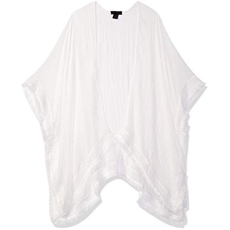 169c7c88ae2 Steve Madden Women's BEA Grazer Crinkle Topper, White, One Size