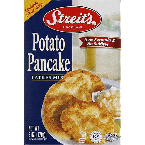 Streit's Potato Pancake Latkes Mix, 6 oz, (Pack of 12)