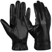 Mens Winter Gloves-Fitbest Mens Winter Touch Screen Warm Gloves Touch Screen Gloves Casual Gloves Sports Gloves for Men