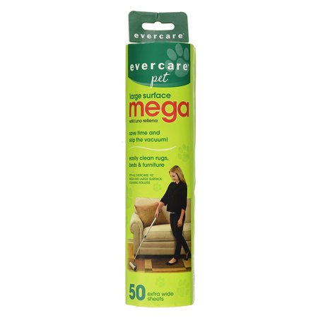 Evercare Pet Extreme Stick Mega 50 Sheet Refill 10