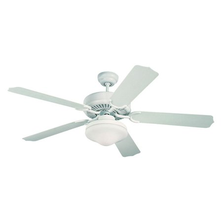 Monte Carlo 5WF52WHD-L Weatherford Deluxe 52 in. Indoor / Outdoor Ceiling Fan - White