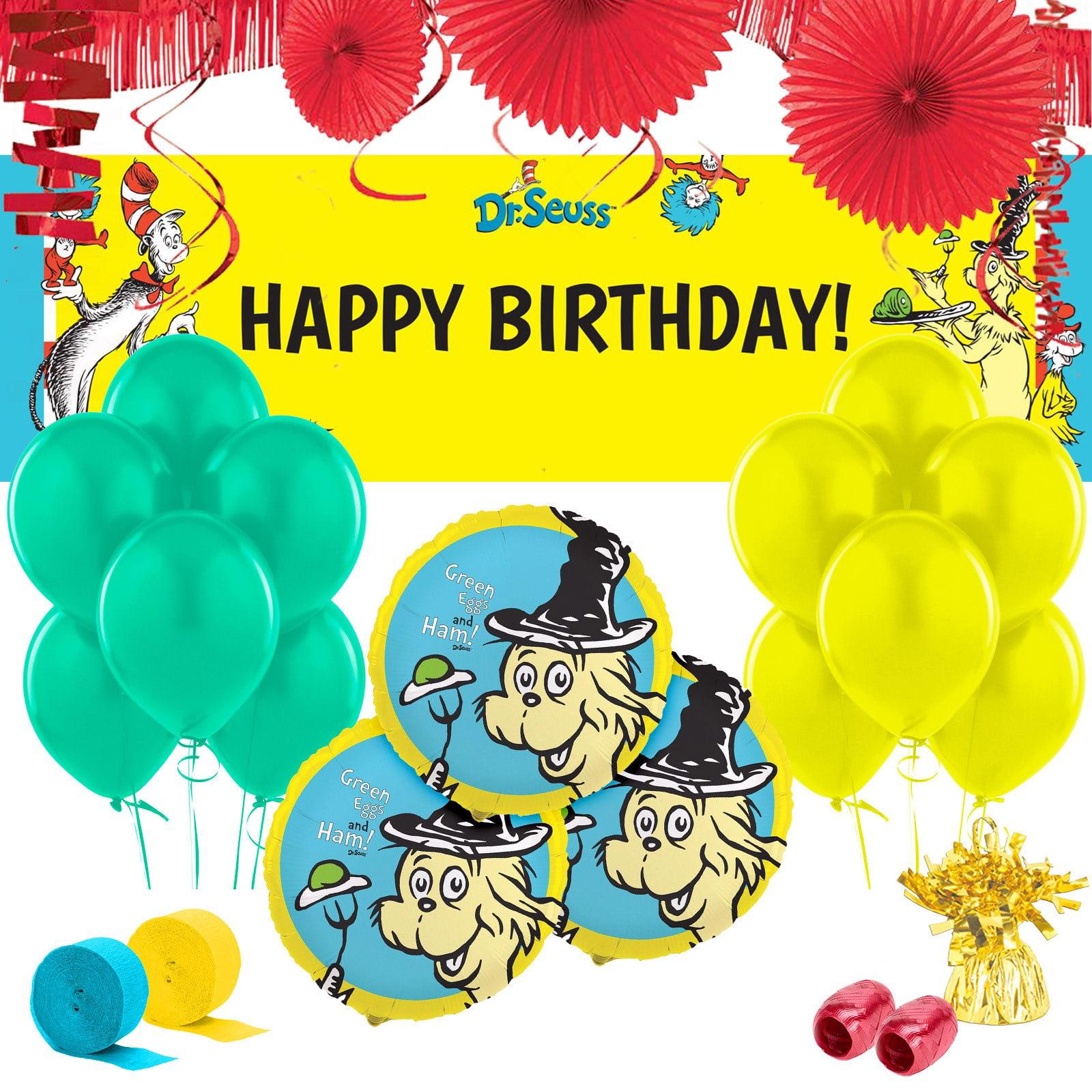 Dr. Seuss Classic Party Supplies - Walmart.com