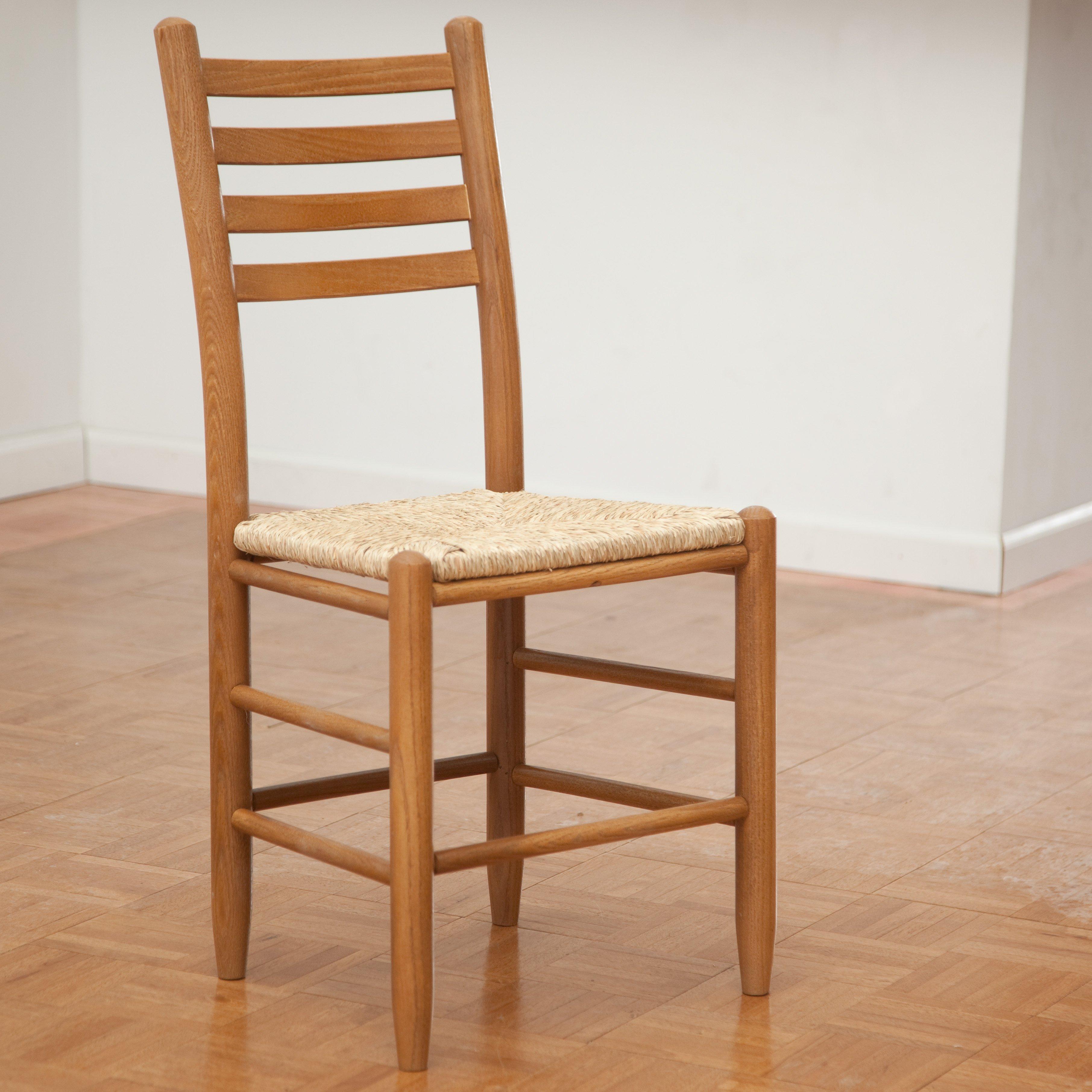 Dixie Seating 4-Slat Steam Bent Ladder Back Chair