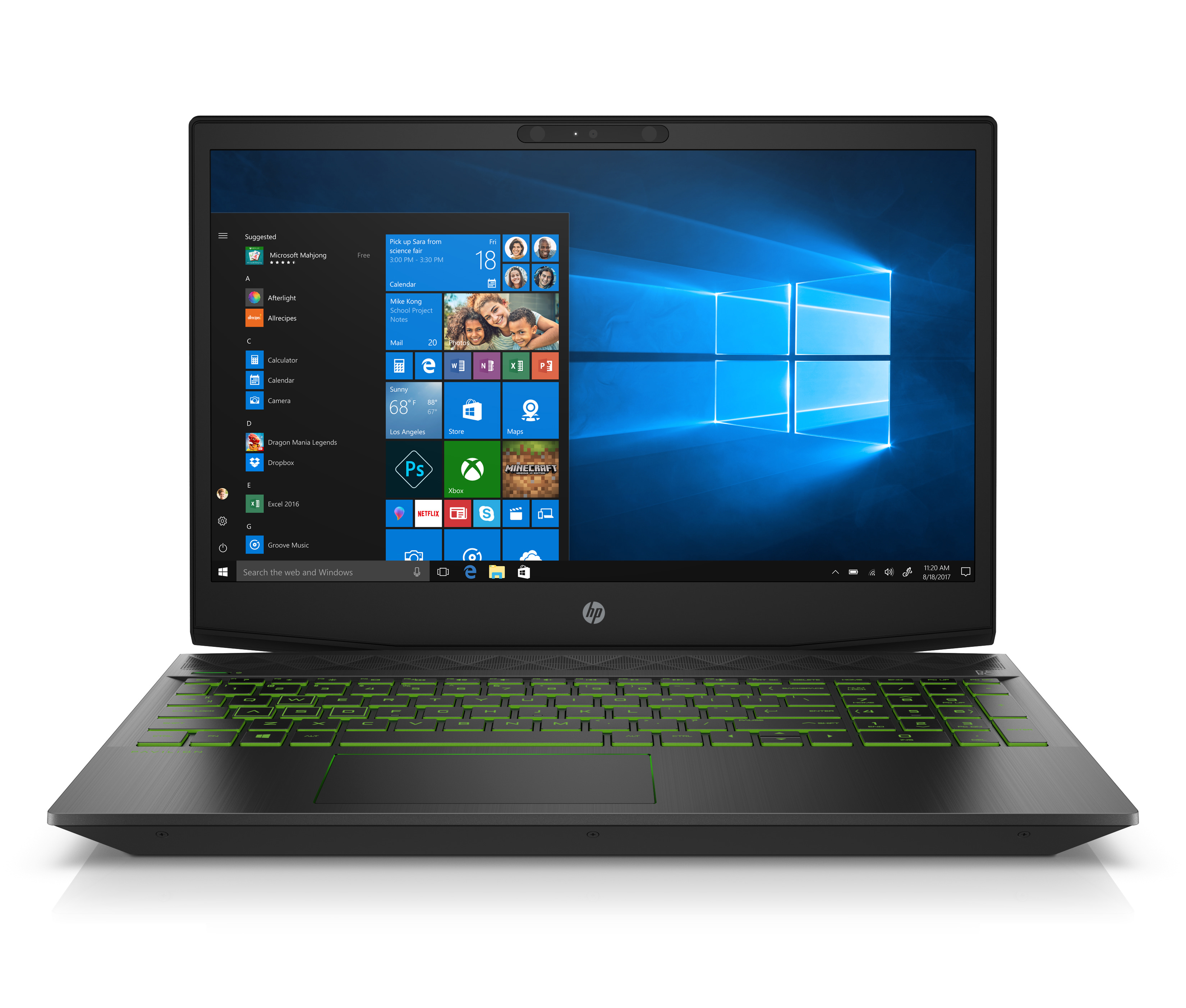"HP Pavilion 15-cx0058wm 15.6"" FHD Gaming Laptop, Windows 10, Intel Corei5+ 8300H processor (Core i5 and... by HP"