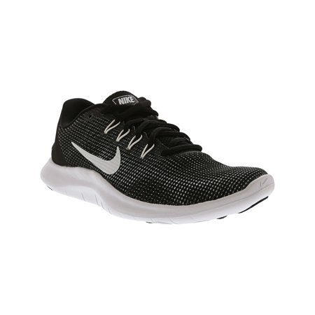 8ffb5574189 Nike Women s Flex 2018 Rn Black   White Ankle-High Running Shoe - 8M ...
