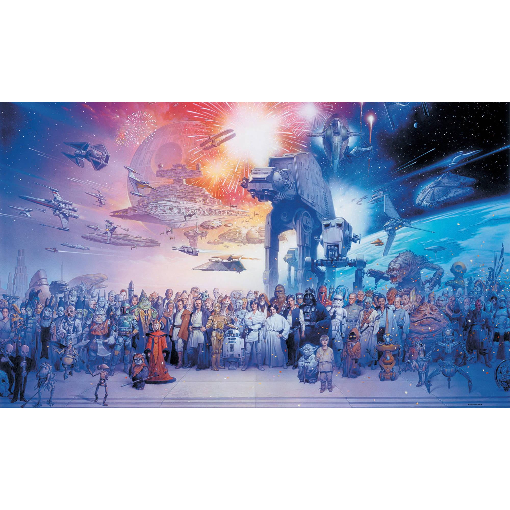 RoomMates Star Wars Saga XL Wall Mural