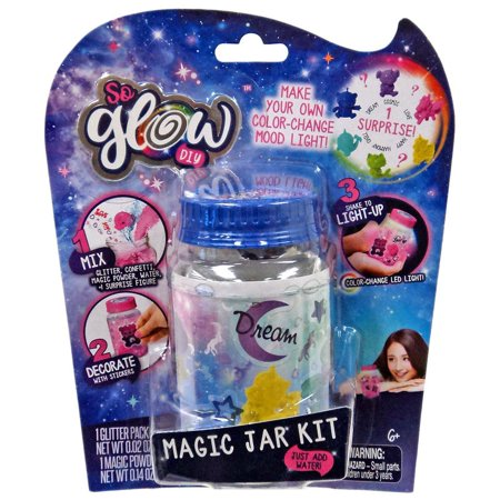 Diy Glow Jars (So Glow DIY Mini Magic Jar Dream)