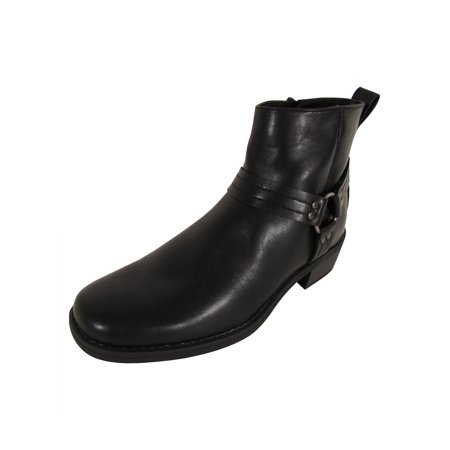 Memphis One Mens Harness Motorcycle Ankle Boot Shoes ()