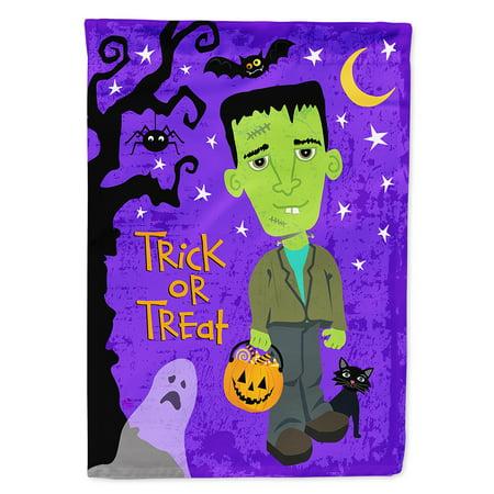 Halloween Frankie Frankenstein Garden Flag