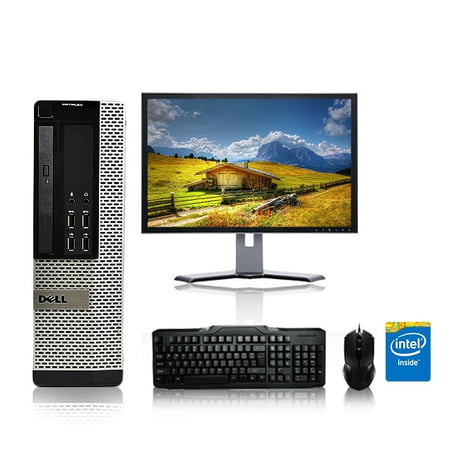 Refurbished - Dell Optiplex Desktop Computer 3 2 GHz Pentium D Tower PC,  4GB, 160GB HDD, Windows 7 x64, 17