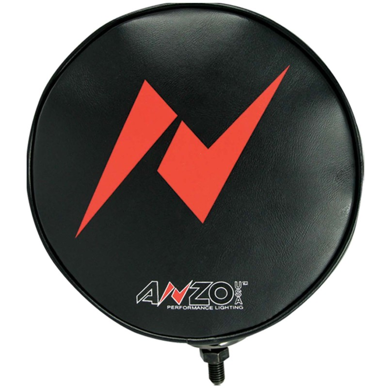 ANZO 8in AnzoUSA Branded Off Road Fog Light soft cover - Each