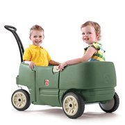 Portable Wagon for Two Plus Willow w/ Easy Latch Door & Long Handle by Step2