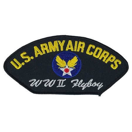 US ARMY AIR CORPS USAF AIR FORCE WWII FLY BOY WORLD WAR 2 TWO PATCH