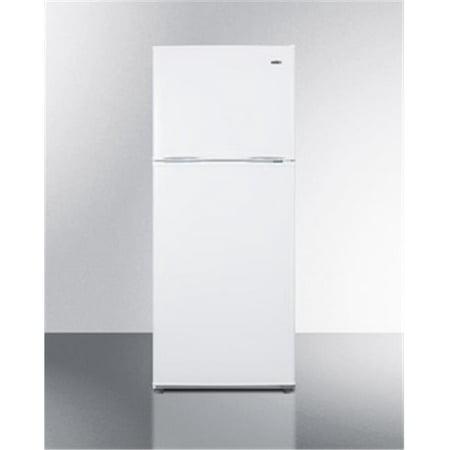 Summit Appliance FF1386W 24 in. Freestanding Top Freezer Refrigerator, White (Lg Lfx29927st Refrigerator)