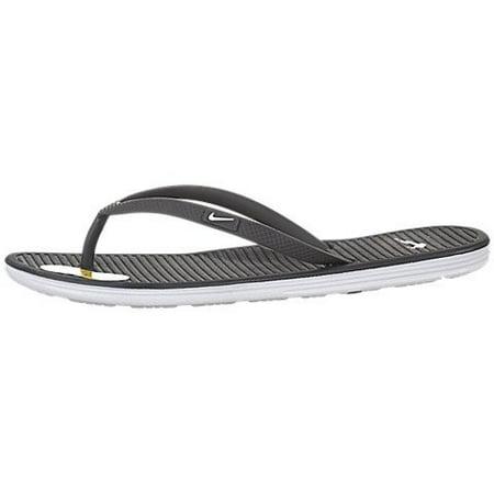 11e4343cf Nike - Nike Womens Solarsoft Thong Ii Style  488161-019 Size  6 M US -  Walmart.com