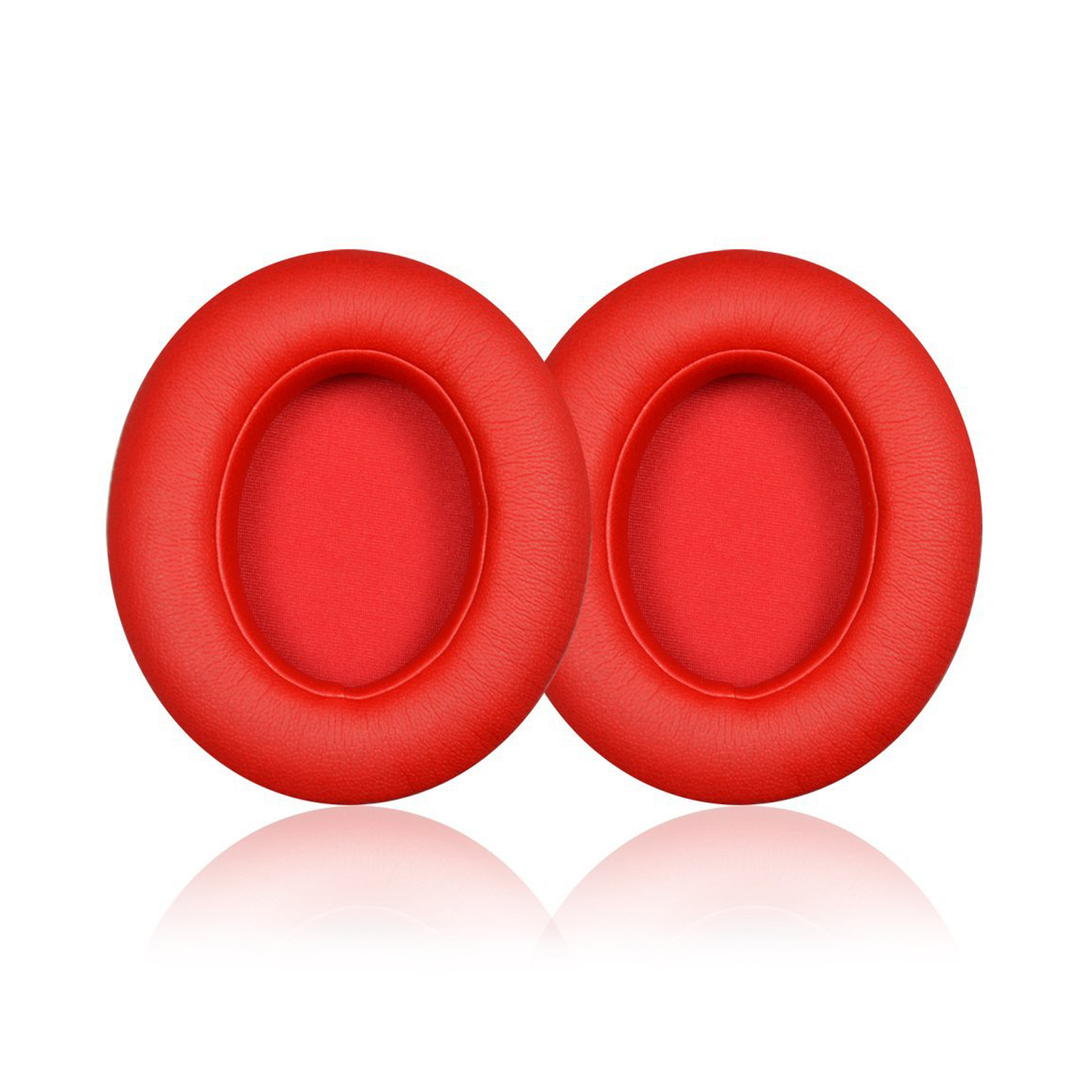 Replacement Earpad Ear Pads Cushions For Beats by Dr. Dre Studio 2.0 Headphones(Red)
