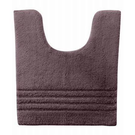 Simply Vera Plush Contour Bath Rug Plum Skid Resistant Cotton Mat 21x24