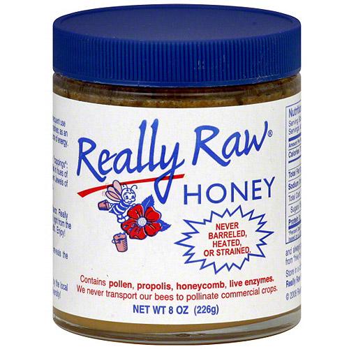 Really Raw Honey, 8 oz (Pack of 24)
