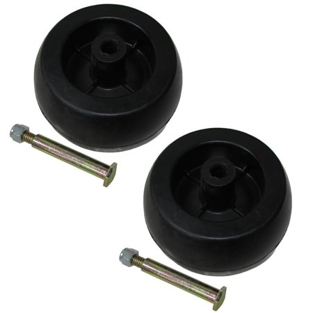 2 Deck Wheels with Bolts Nuts Craftsman 532133957 Cub Cadet LT150 MTD