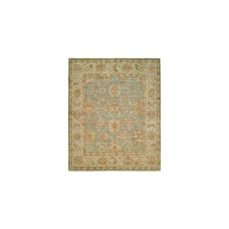 Harounian Rugs 10599 Peshawar P-6 Light Blue - Ivory 12 X 18 ft. Rug