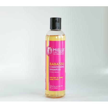 Mielle Organics Babassu Oil Sulfate Free Shampoo 8 oz ()