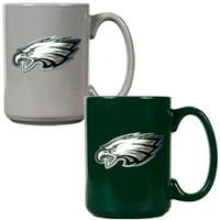 Philadelphia Eagles 15oz. Coffee Mug Set - No Size